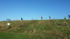Our race against Braintree running club, Notley Park